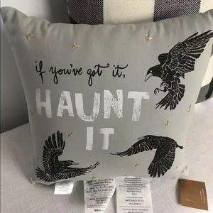 Pottery Barn Halloween accent pillow